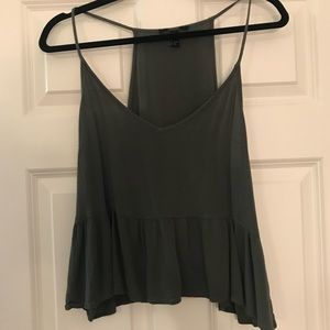 Forever 21 strappy cropped tank top